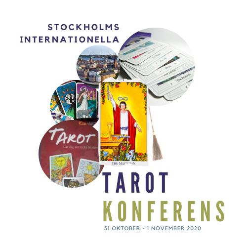 Missa inte Stockholms Tarotkonferens till Halloween 31 oktober – 1 november